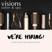 Experienced Hairstylist Wanted!