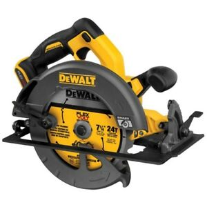 "New! Dewalt Flexvolt 60V MAX 7-1/4"" Circular Saw W/Brake DCS575B"