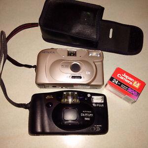 Fuji and Mitsuca Cameras