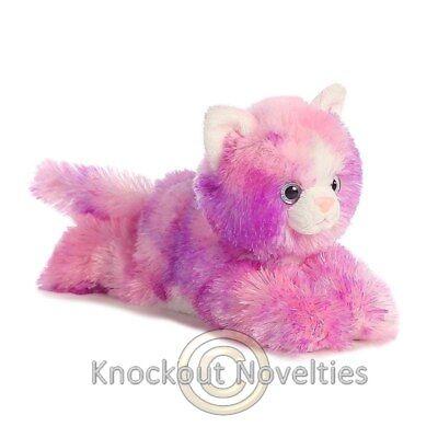 Razberryripple Aurora Plush Stuffed Animal Toy Cute Cuddly Pink Kitten Kitty Cat