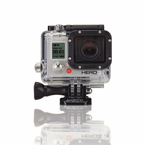 GOPRO HERO 3 SILVER WATERPROOF CAMERA + accessories