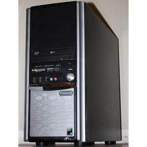 TouchSystems Desktop PC AMD Dual Core 4GB RAM 500GB DVDRW HDMI Regina Regina Area image 1
