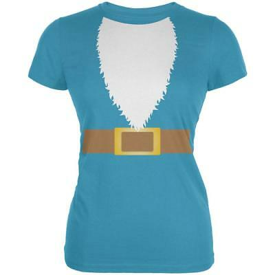 Halloween Lawn Gnome Costume Juniors Soft T Shirt