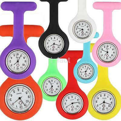 Premium Quality Silicone Nurse Watch Brooch Tunic Fob Watch Doctor Brooch Pin