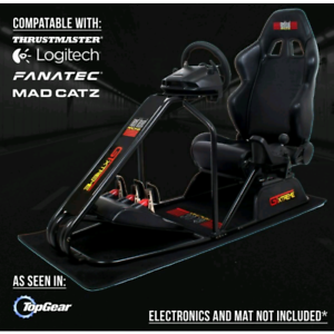 Next Level GT Extreme Racing Simulator With Logitech G27 Setup In