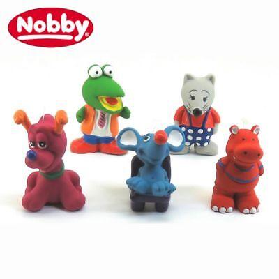 Nobby Latex Hundespielzeug - Tierfigur - Spielfigur für Hund - quitscht (Spiel Hund)