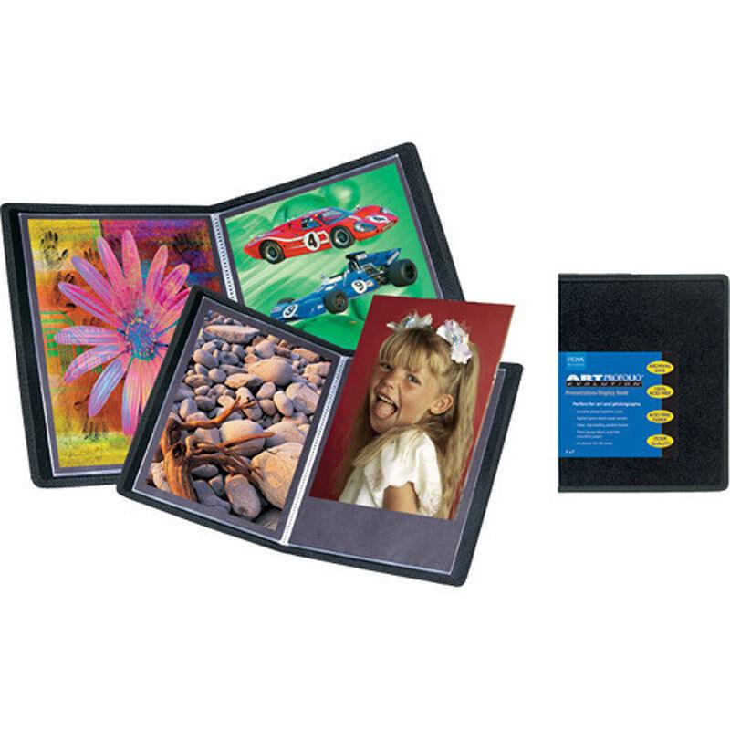 "Itoya Art Profolio Original Storage/Presentation Display Book 9x12"", 24 Pages"