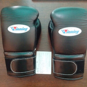 Winning 14oz Velcro boxing gloves
