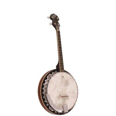 Barnes and Mullins Banjo 'Perfect' 4 String Irish Tenor BJ304GT
