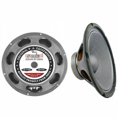 "12"" Speaker Replacement MID BASS DJ Metal Steel 8 ohm 60 oz 5 Core Home Audio"