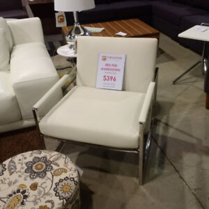 Revolve Outlet White Accent Chair Now Only $396!!