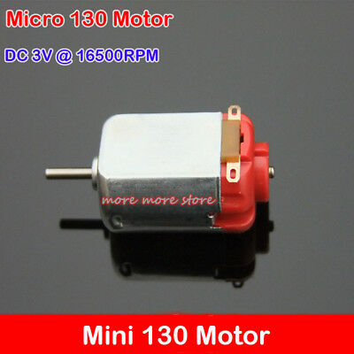 Micro 130 Motor Dc 3v 16500rpm For Four-wheel Car Drive Robot Diy Model Robotic