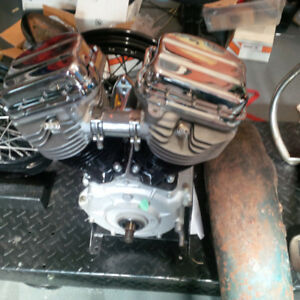 1956 Harley FLH Panhead Project Complete