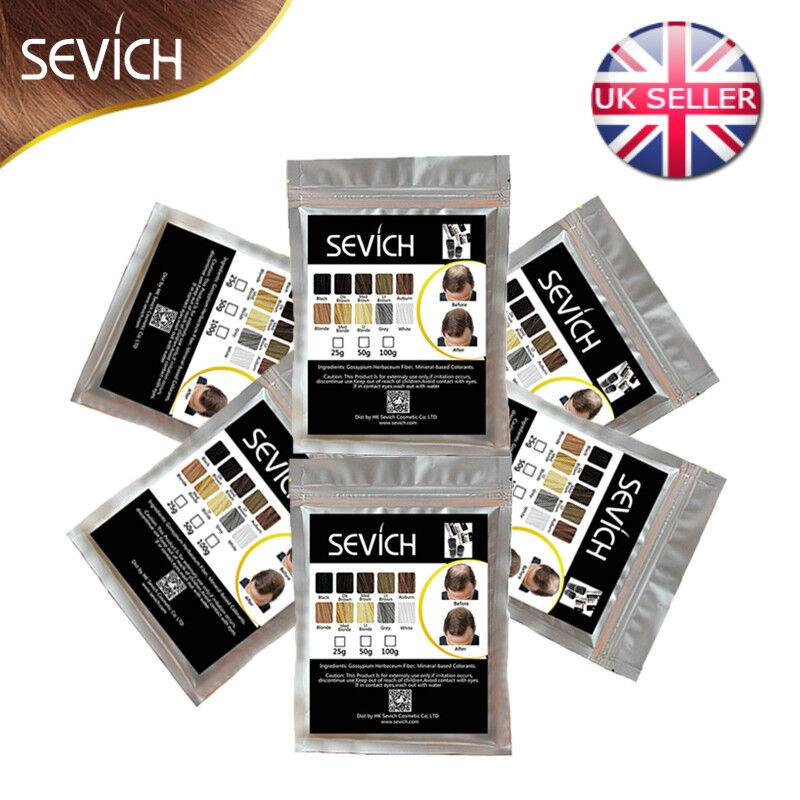 Sevich Hair Fibers Keratin Building Thickening 25g to 1kg(1000g) Refill Packs