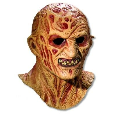 Freddy Krueger Mask Adult - Hat Not Included - Freddy Krueger Masks
