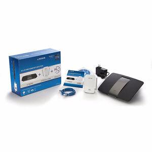 Linksys AC1750 smart WiFi router + Wi-Fi Range extender - NEW