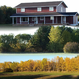 House in New Condition on Acreage, Delisle Vanscoy Area