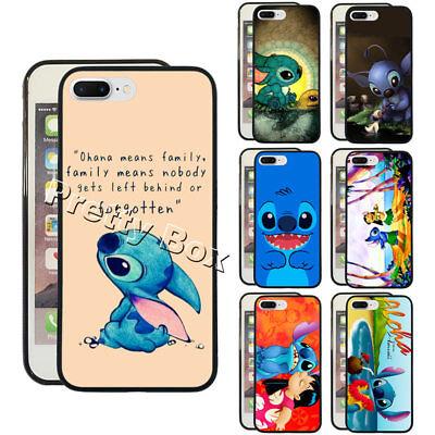 Ohana Lilo and Stitch Turtle Phone Case Fit For iPhone & Samsung Phone - Ohana Cover