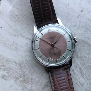 BEAUTIFUL VINTAGE GIRARD PERREGAUX MEN'S WRIST WATCH
