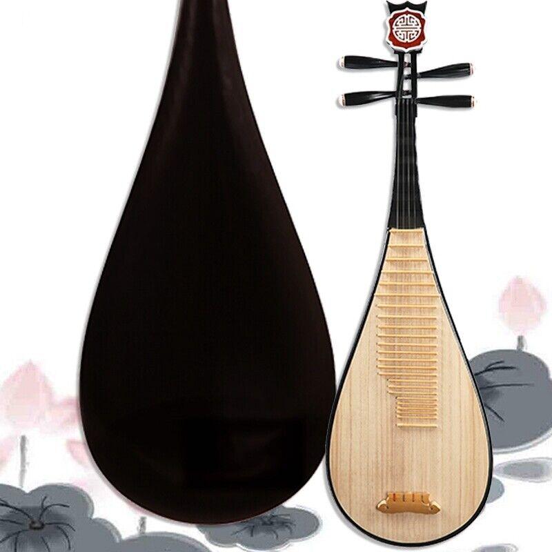 Luet Liuqin Chinese Soprano Pipa Lute Guitar Musical Instrument Yue Hai #4108