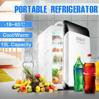 220V 12V 10L Portable Mini Fridge Freezer Cooler Refrigerato