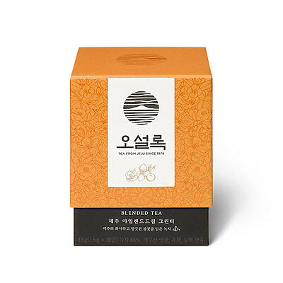 [OSULLOC] JEJU Island Dream Green Tea(10 Pyramid Teabags)