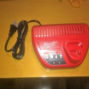 Milwaukee M12 Battery Charger - Brand New from Kit