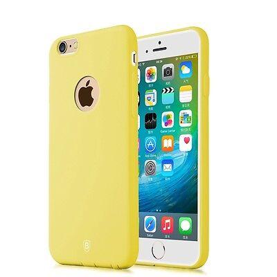 Baseus Mousse Case Series Slim Softcase Schutzhülle iPhone 6 Plus 6S Plus gelb