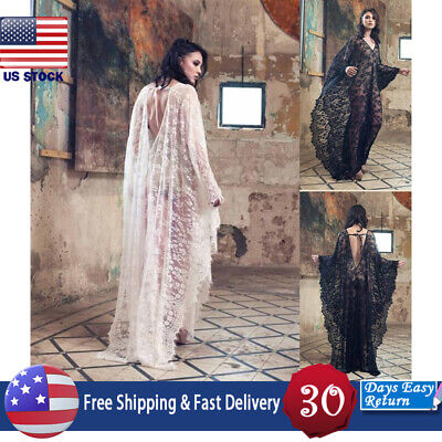 Womens Medieval Renaissance Lace Up Solid Gothic Hollowing Out Dress Cloak Plus (Medieval Dress Women)