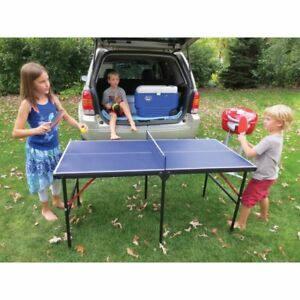 Kid's Portable Ping Pong 60-Inch - Brand New - In Box