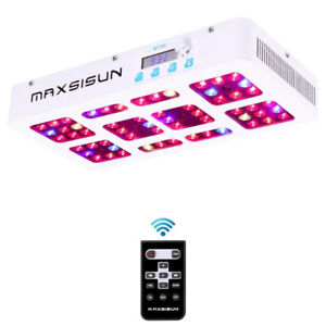 MAXSISUN Timer Control 300W LED Indoor Grow Spectrum Dimmable
