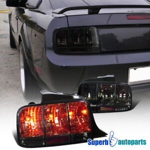 2005-2009 Ford Mustang Tail Lights Sequential Signal Lamp Smoke