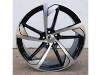 "20"" Deep Concave RS5 Style Alloy Wheel for 5x112 Audi A4, A6, A5 Etc"
