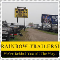 "Canadian Made ""RAINBOW"" Utility Trailers For Work or Play Red Deer Alberta Preview"