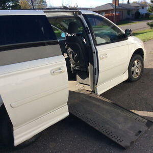 Reduced.   Wheelchair accessible Van
