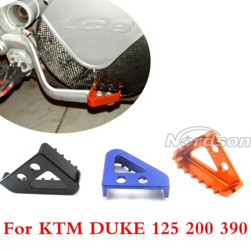 KTM 990 ADVENTURE 990 ADVENTURES 2007-2008 BRAKE PEDAL STEP TIPS ORANGE