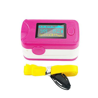 Usa Fda Oled Fingertip Pulse Oximeter Alarm Pulse Sound Spo2 Oxygen Monitor