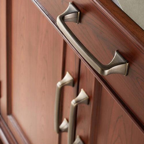 Vintage Antique Bronze Cabinet Handles