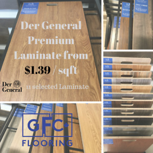 End-of-Season Special: Luxury 12mm Laminate Starts From $1.39/sf
