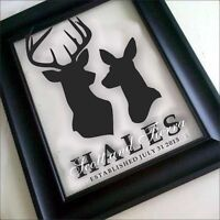 CUSTOM FAMILY NAMES - Perfect Wedding Gifts!