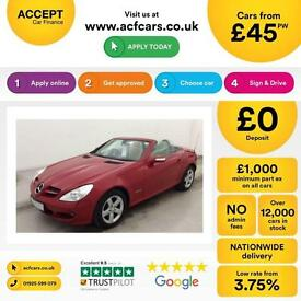 Mercedes-Benz SLK200 Kompressor 1.8 auto FINANCE OFFER FROM £45 PER WEEK!