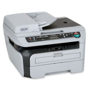 Laser printer:  Brother DCP-7040, with scanner, copier, ADF