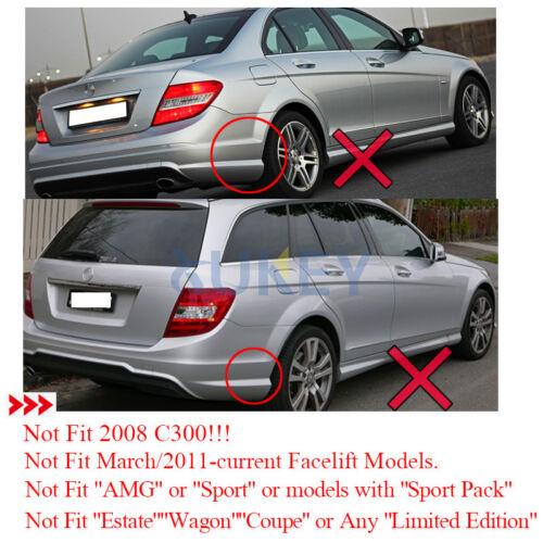 Set of Front Mud Flap Splash Guard For Mercedes Benz C180 C200 C220 Sedan 94-97