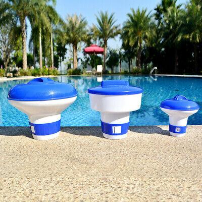 Pool Cleaning 100 Tablets Hot Tub Floating Tablet  Dispenser Chlorine Chemical
