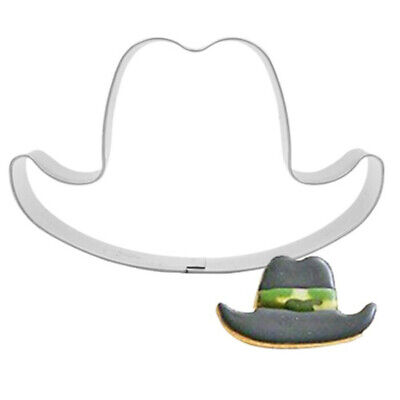 Cowboy Hat Stainless Steel Cookies Cutters Cake Baking Biscuit DIY Mould Mold - Diy Cowboy Hat