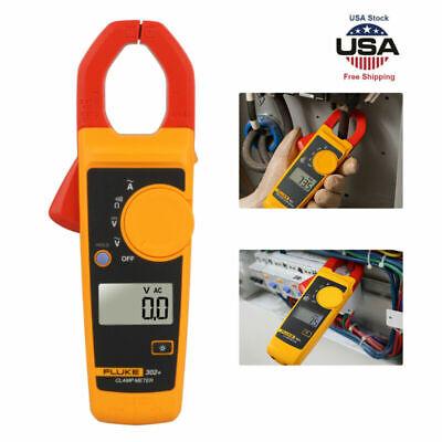 Handheld Fluke 302 F302 Digital Clamp Meter Tester Ac Dc Volt Amp Multimeter T
