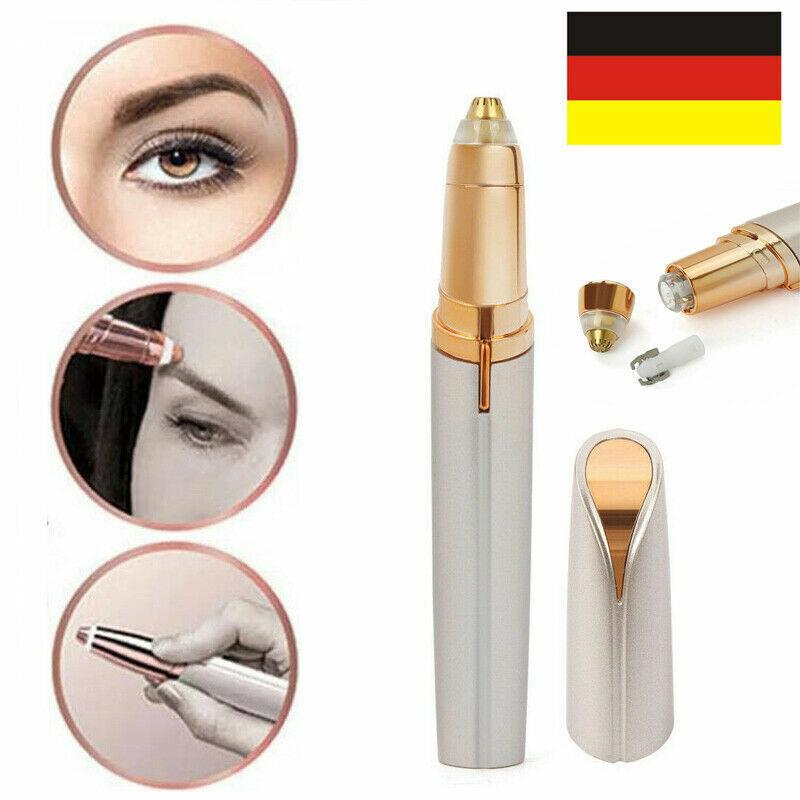 Damen Brows Augenbrauenrasierer Elektrisch Augenbrauenformer Rasierer DE