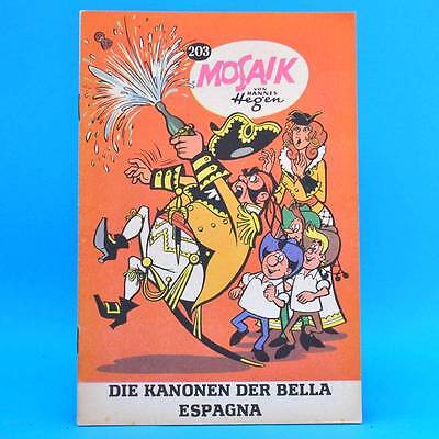 Mosaik 203   Digedags Hannes Hegen Originalheft   Original DDR SR 1/2