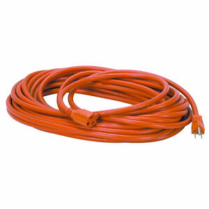 EXTENSION CORD FOR LAWN MOWERS HEAVY DUTY  IN DOOR/OUTDOOR