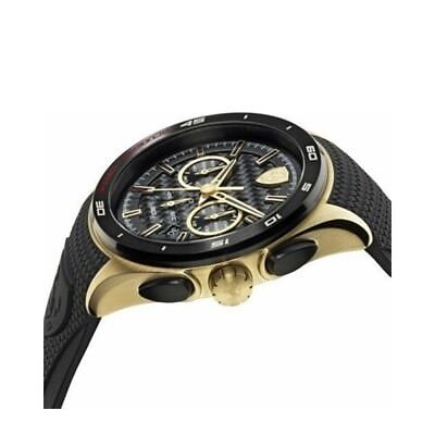 Ferrari Scuderia Sport Car Fan Chronograph Gran Premio Mens Watch 830346